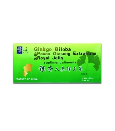 Ginkgobiloba+Ginseng+Roy Jelly Fiole