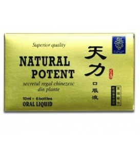 Natural Potent, 6 fiole x 10 ml