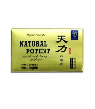 Natural Potent, 6*10 ml