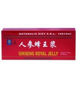 Royal Jelly & Ginseng, 10 fiole x 10 ml