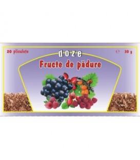 Ceai Fructe de padure, 20 doze