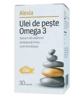 Ulei de peste Omega 3, 30 capsule