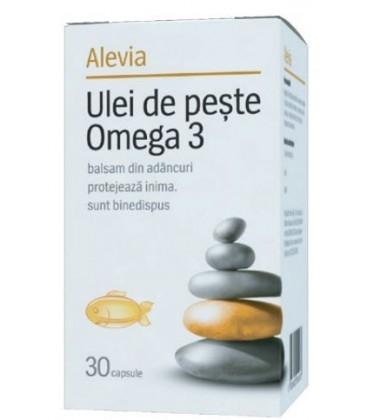 Ulei de peste Omega 3, 30 CPS
