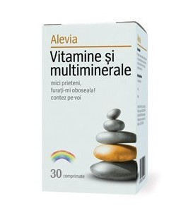 Vitamine si multiminerale, 30 tablete