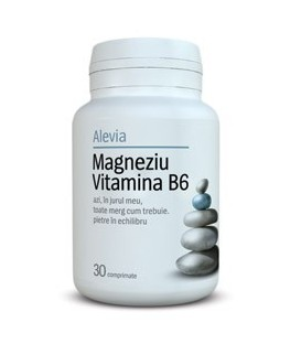 Magneziu Vitamina B6, 30 tablete