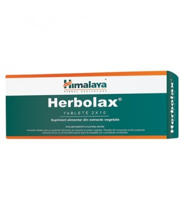 Herbolax, 20 comprimate