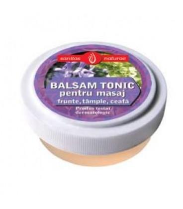 Balsam tonic pe, frunte, tample, 20 ml
