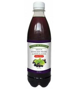 Sirop de coacaze negre si miere, 500 ml