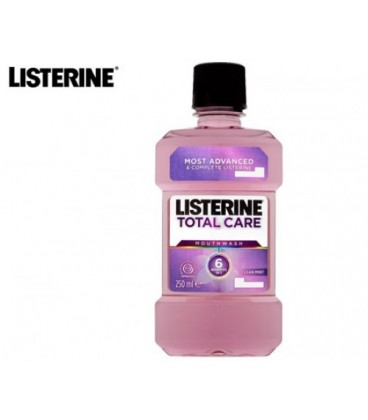 Listerine total care clean mint, 250 ml