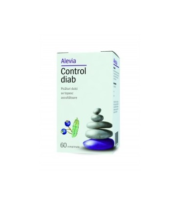 Control diab, 60 comprimate