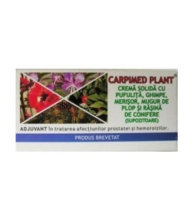 Carpimed Plant supozitor, 10 buc x 1gr
