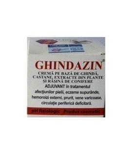 Ghidazin – Crema cu ghinda si conifere, 50 ml