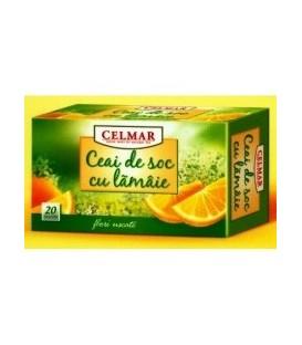 Ceai de soc cu lamaie (fructe), 20 doze