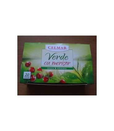Ceai verde cu merisor, 20 doze