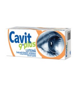 Cavit 9 Plus Luteina, 20 tablete masticabile