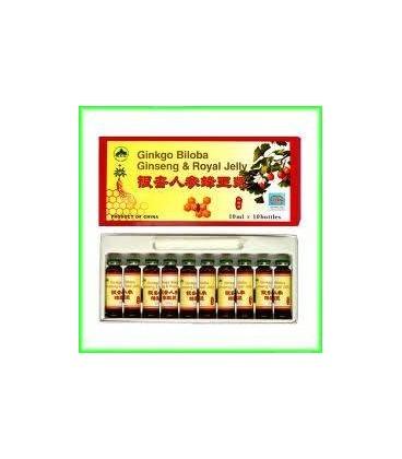 Ginkobiloba+Ginseng+Roy Jely, 10 fiole