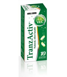 Tranzactiv plus Vitamina C, 10 tablete