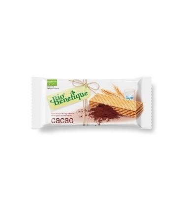 Napolitane cu crema de cacao (BIO), 40 grame