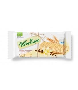 Napolitane cu crema de vanilie (Bio), 40 grame