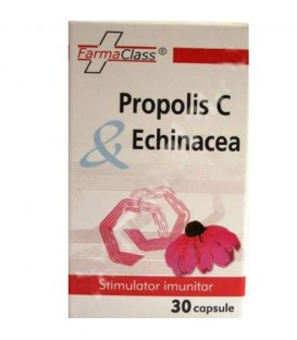 Propolis C & Echinacea, 30 capsule