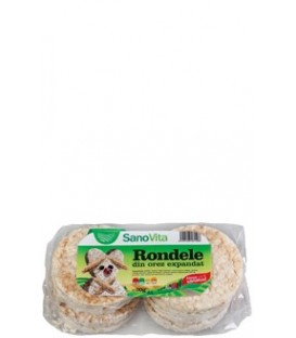 Rondele din orez simple, 80 grame