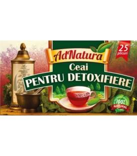 Ceai pentru detoxifiere, 25 doze