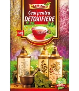 Ceai pentru detoxifiere, 50 grame