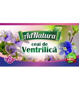 Ceai de ventrilica, 25 doze
