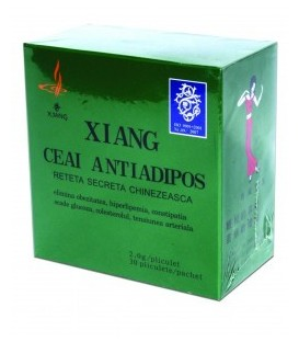 Ceai Antiadipos China, 2.5 grame x 30 doze