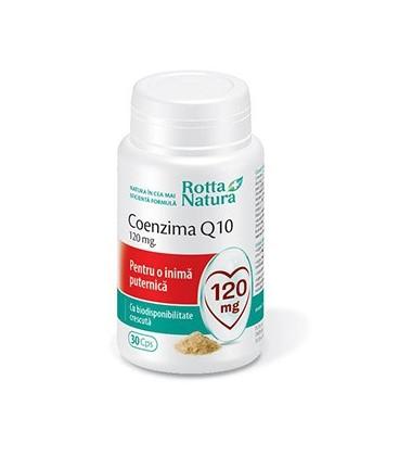 Coenzima Q10, 120 mg x 30 capsule
