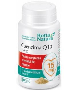 Coenzima Q10 15 mg, 30 capsule