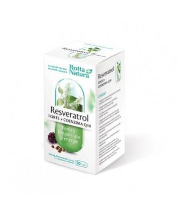 Resveratrol Forte+Coenzima Q10, 30 capsule