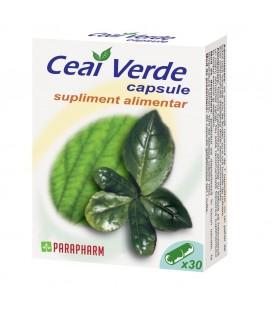 Ceai verde, 30 capsule