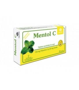 Mentol C, 30 tablete
