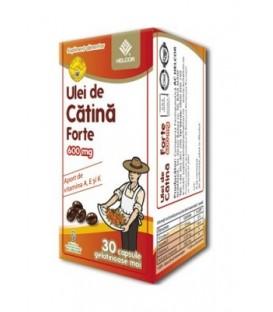 Ulei de catina forte 600 mg, 30 capsule