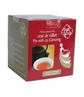Ceai de slabit  Pu-Rrh cu ginseng, 20 dozex 2 grame