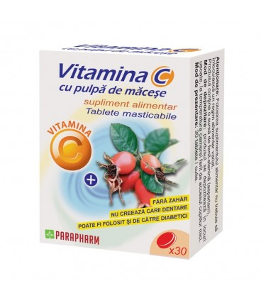 VITAMINA C+PULPA MACESE 30CPS