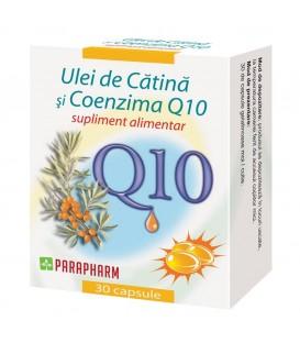 Ulei de catina + coenzima Q10, 30 capsule