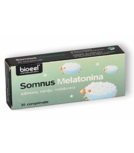 Somnus Melatonina, 20 tablete