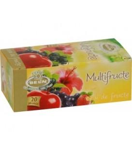 Ceai Belin cu lamaie & multifructe, 20 doze