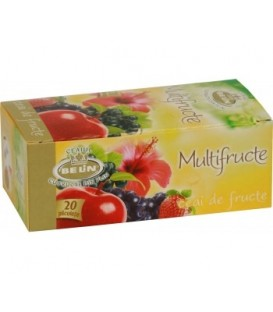 Ceai Belin multifructe, 20 doze