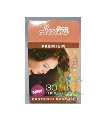 VOPSEA DE PAR HENNA SONIA PREMIUM CASTANIU DESCHIS, 60 GRAME