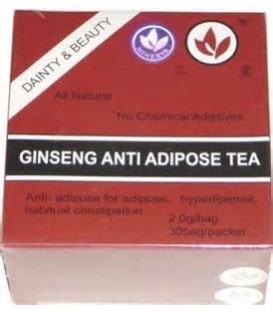 Ceai antiadipos rosu + Ginseng, 30 doze