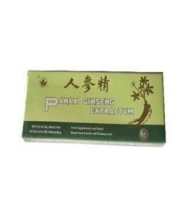 Ginseng panax, 10 fiole