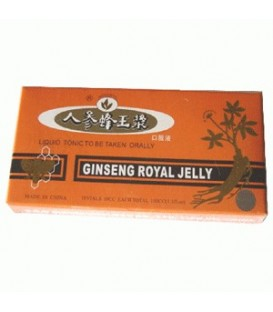 Ginseng & Royal jelly, 10 fiole