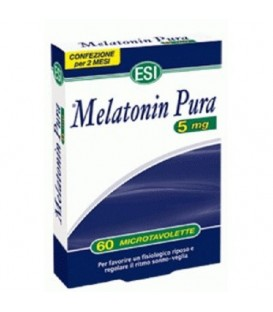 Melatonina pura 5 mg, 60 tablete