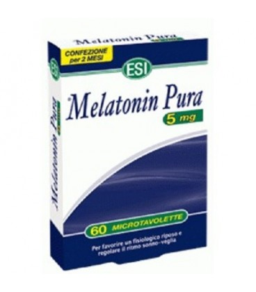 MELATONINA PURA, 5MG- 60 COMPRIMATE