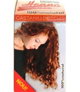 Henna castaniu deschis, 100 grame