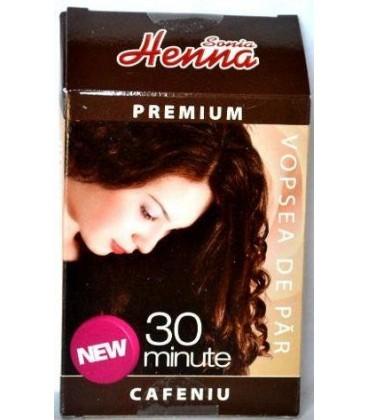 HENNA PREMIUM CAFENIU, 60 GRAME