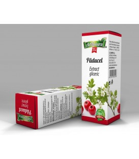 Extract gliceric Paducel frunze&flori ,50 ml